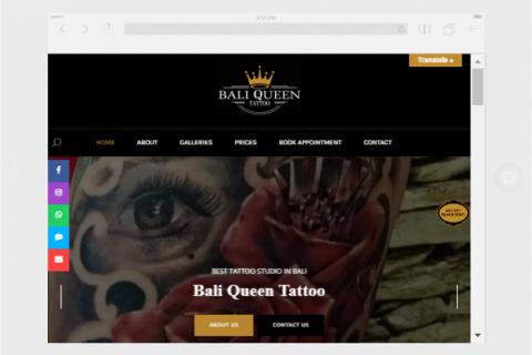 Bali Queen Tattoo